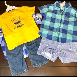 Carter's Boys Outfits Bundle. NWT. 3 Months.